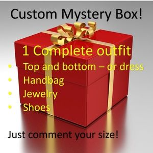 Other - Custom mystery box- a complete outfit in your size